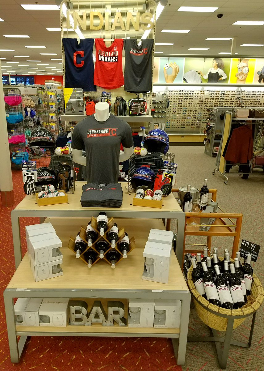 Cheer on the Indians by shopping #Target for #ClevelandIndians   sports apparel you will love at great low prices. #984medina #GoTribe<br>http://pic.twitter.com/c641l6nF92