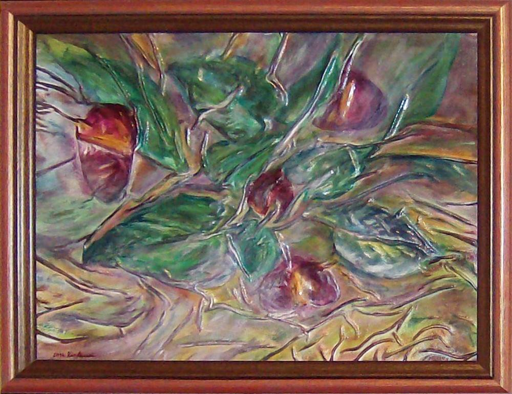 Abstract Floral Painting, Flower, Anniversary Gift for Women, Mothers day…  http:// tuppu.net/429d8aaa  &nbsp;   #Etsy #MothersDay <br>http://pic.twitter.com/69bOqKmagm
