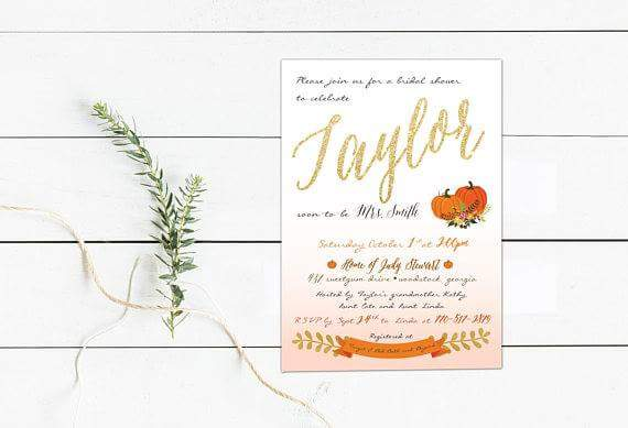 Check out our pumpkin floral themed bridal shower invitation.  https://www. etsy.com/shop/thepaperv ow &nbsp; …   #invitation #fallwedding #bridalshower #thepapervow<br>http://pic.twitter.com/C8QRqN38fr
