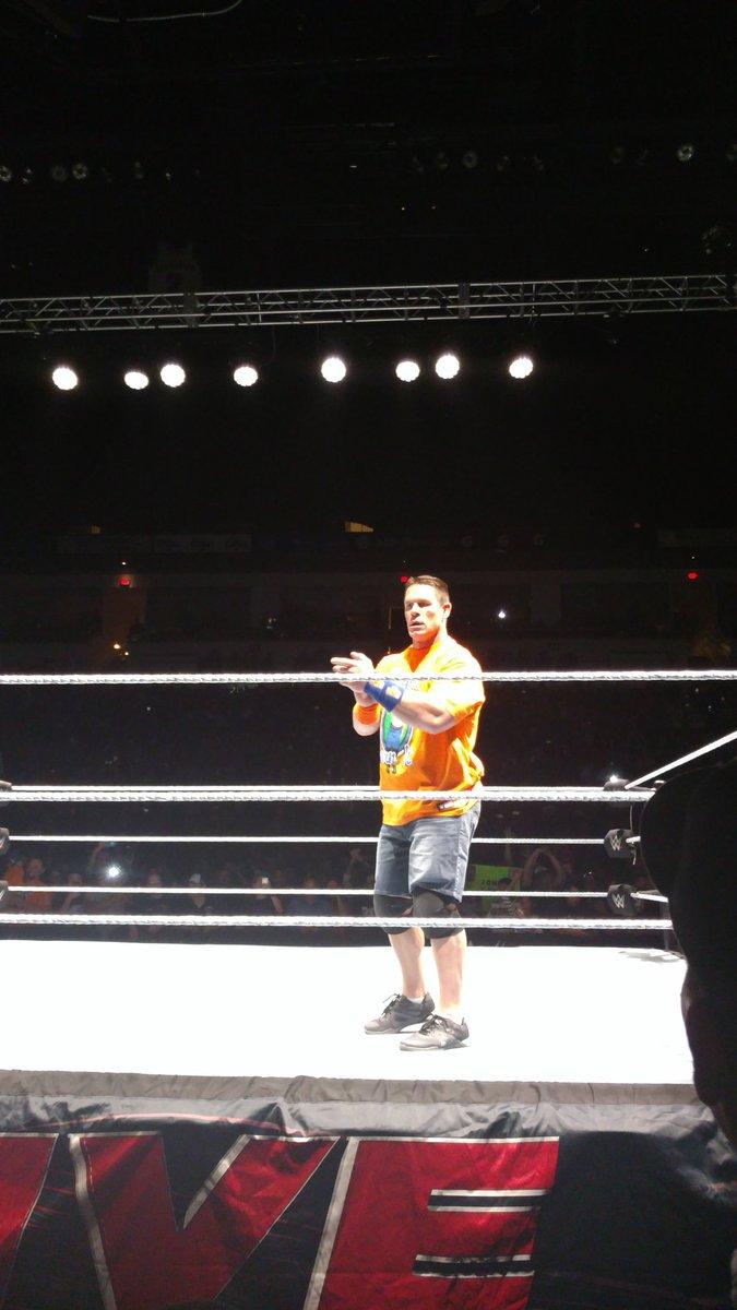 WWE Live w Fresno, Kalifornia (09/23) - Wyniki