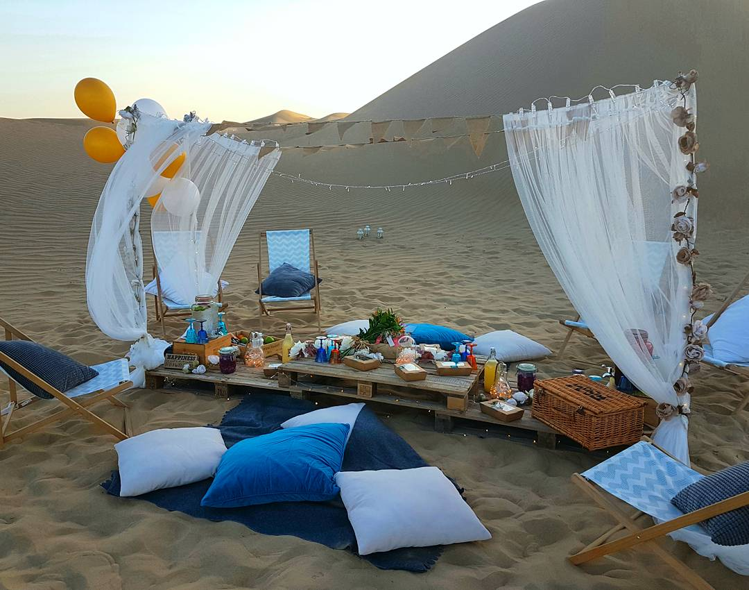 Image result for arabian picnic in desert