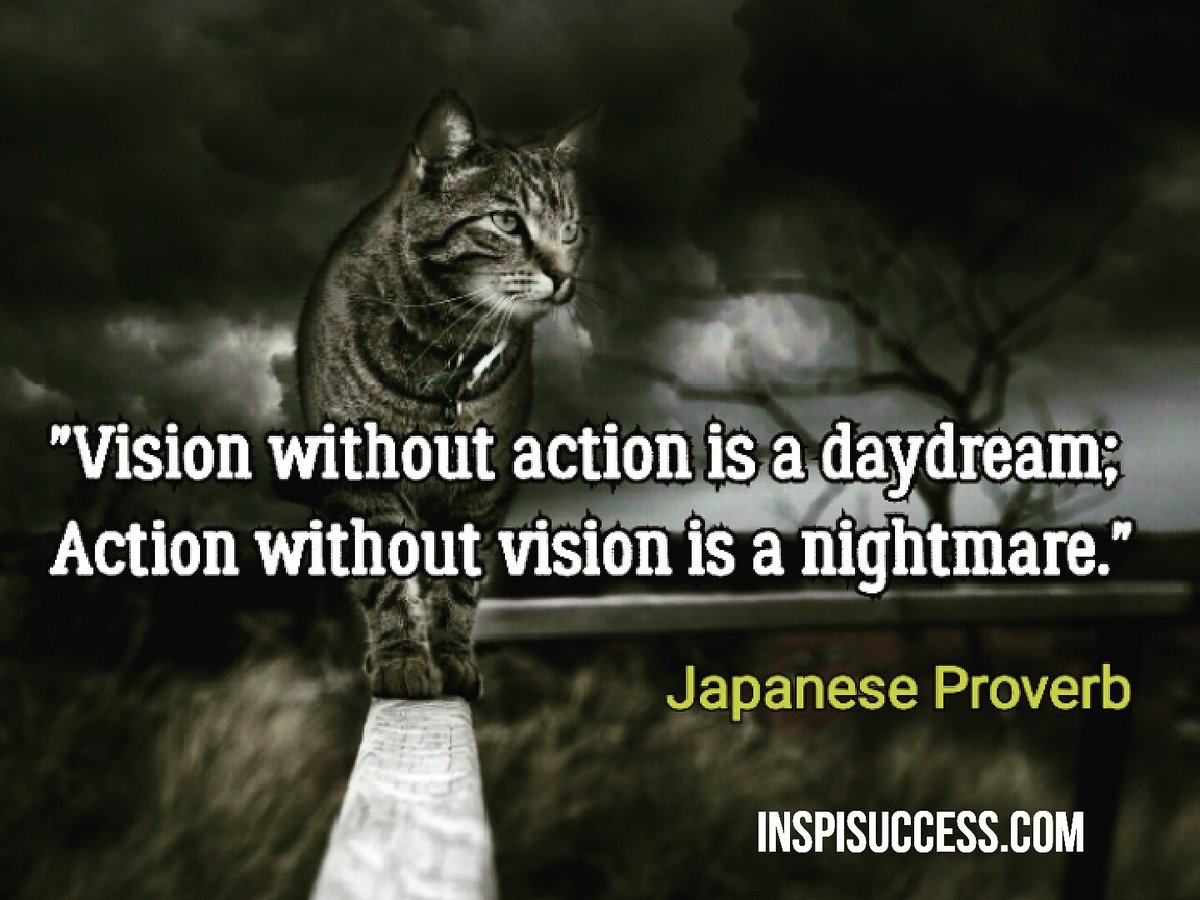 Vision without action...  #quote #quoteoftheday #MakeYourOwnLane #defstar5 #motivation #quotes #inspiration #success #leadership #startups<br>http://pic.twitter.com/kkdAFWjtmK