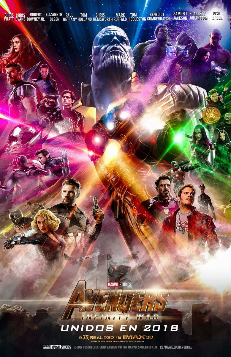 What the #InfinityWar poster will probably look like. <br>http://pic.twitter.com/8NVZYBh5aq