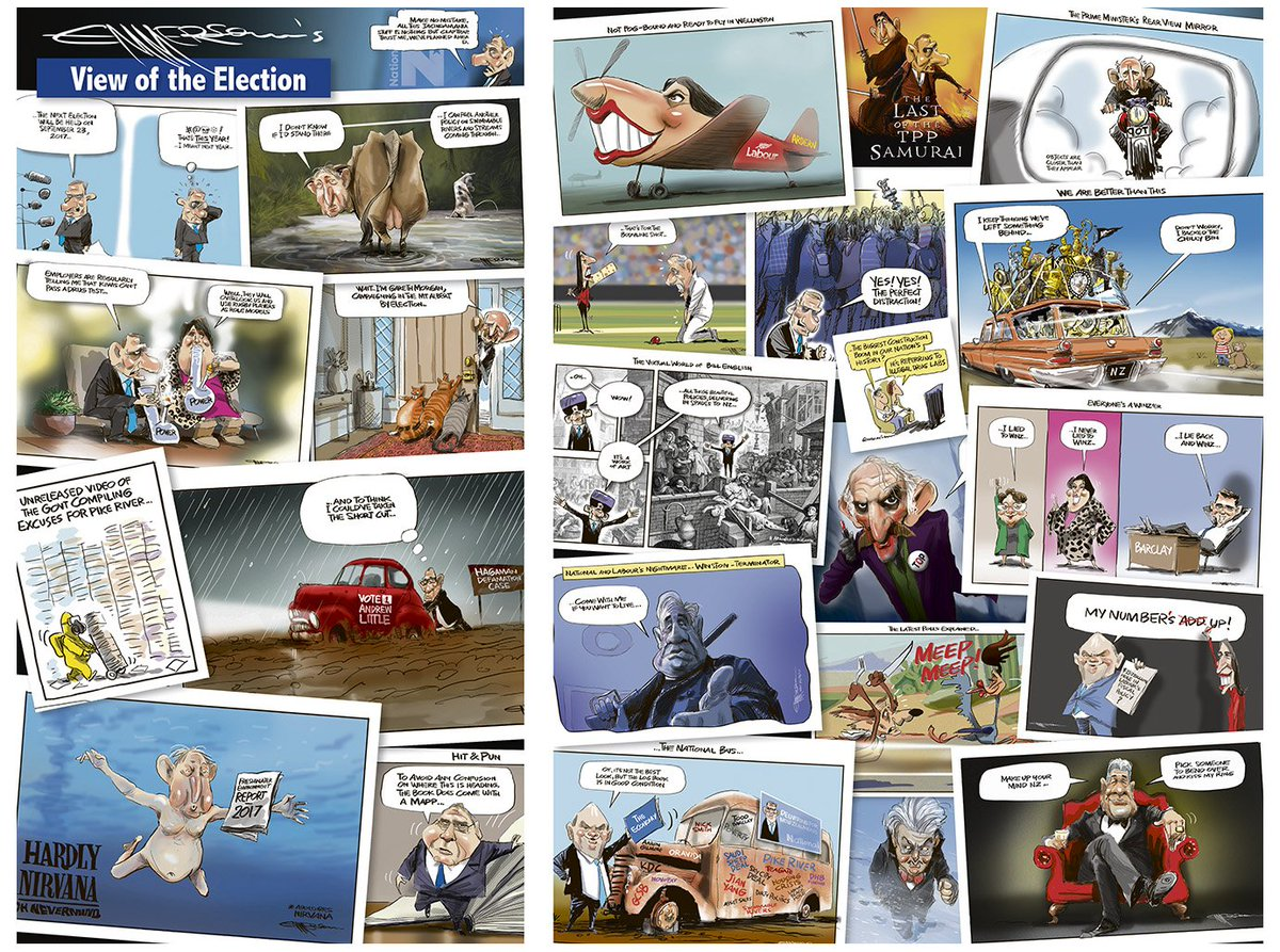 The election wrap - in today&#39;s @nzherald #nzpol  #vote17 <br>http://pic.twitter.com/oCQ89h8mpL