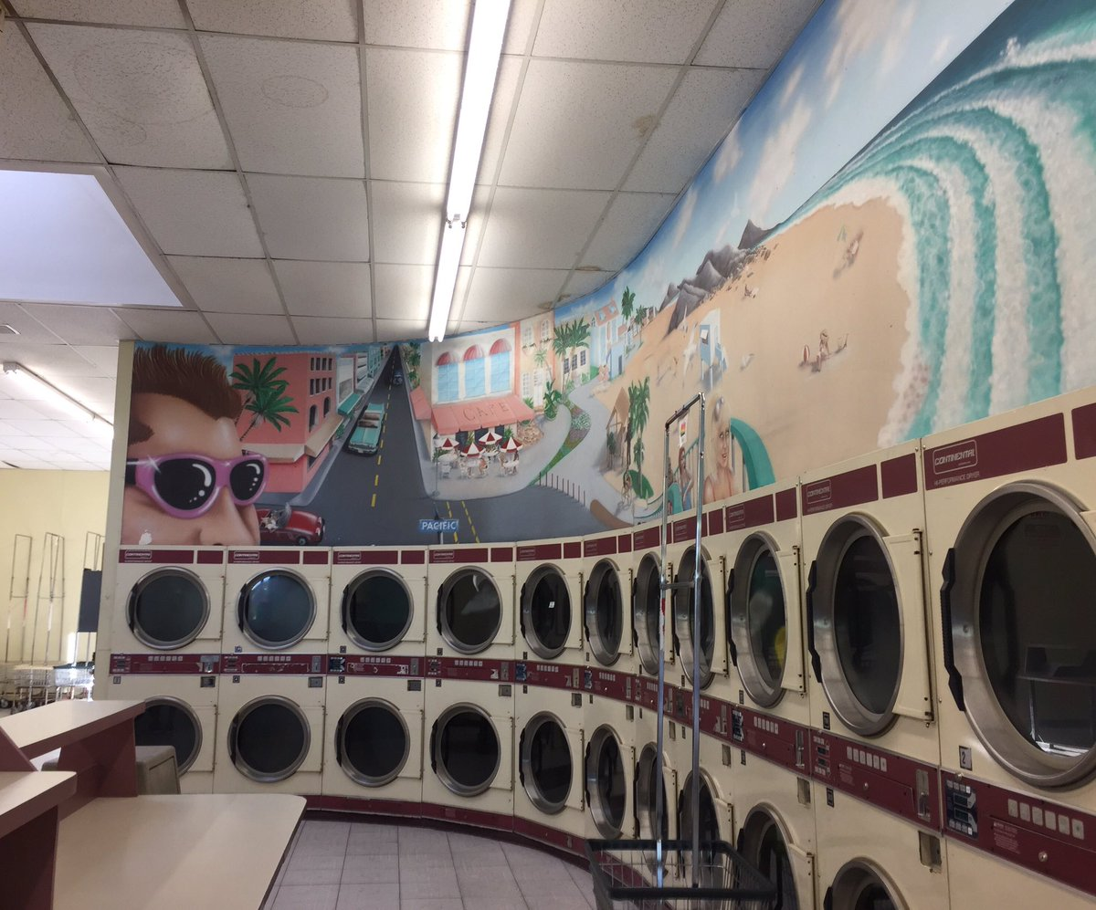 Going To Miss The Mural I Went By There Today Take One Last Look At Itpic Twitter 101kx7co3c Venice Beach Laundry