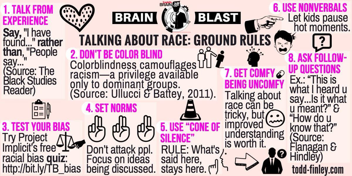 New! How to Talk about #Race in the Classroom.  #elearning #edchat #sunchat #ukedchat #edleaders #teachers #passiondriven #engchat<br>http://pic.twitter.com/D1TDofxySe