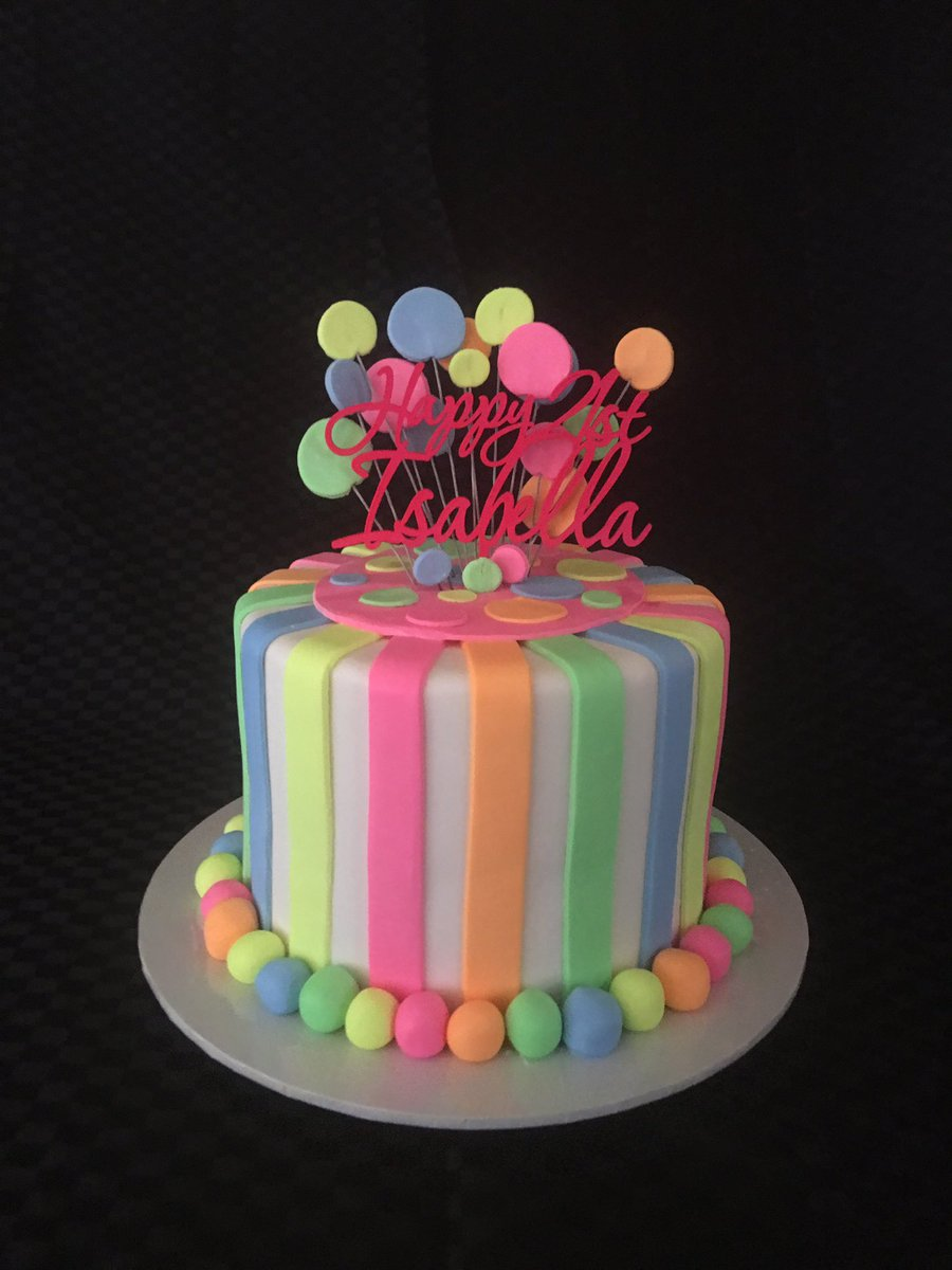 Dianne Sabat On Twitter 90s Themed 21st Cake Happy Birthday Isabella