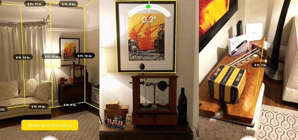 Apple #AR: Occipital&#39;s ARKit App Offers Room Scanning on Par with Tango for iPhones  https:// buff.ly/2fhvFLl  &nbsp;   #AugmentedReality <br>http://pic.twitter.com/VSkCmBsGJM
