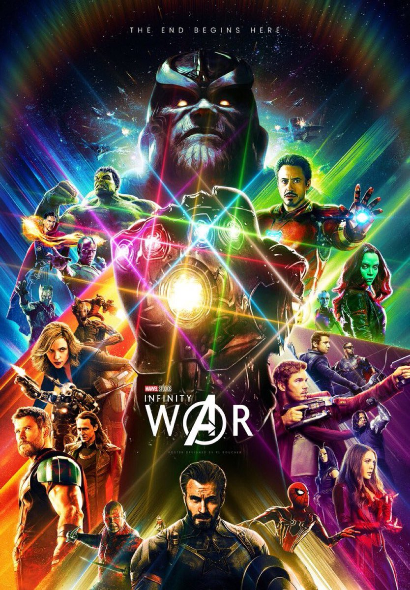 This fan poster for #InfinityWar looks better then most actual posters Marvel comes out with these days #AvengersInfinityWar #Avengers4<br>http://pic.twitter.com/QFmbcraNBO
