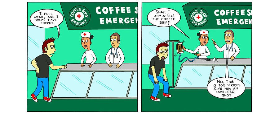 I am in need of an #emergency treatment every #morning. You? For more #funny #coffee #jokes check this page out:  https:// goo.gl/cS5gGy  &nbsp;  <br>http://pic.twitter.com/YfVhPxCKnE