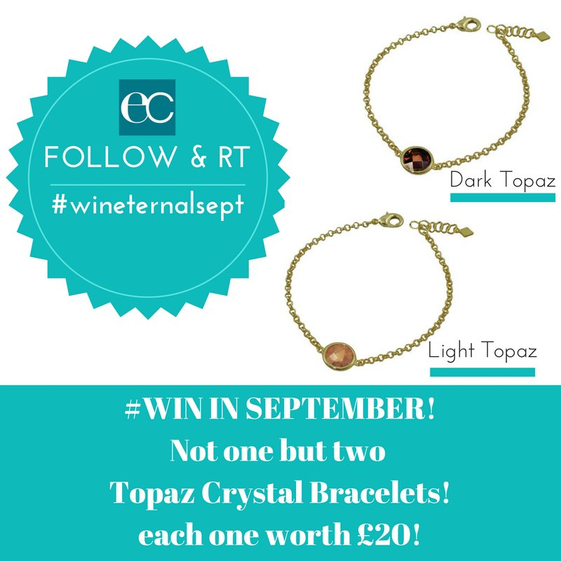 September #Giveaway #Follow / #RT to #win these pretty topaz crystal bracelets, each worth £20! Ends 30/9/17  ONLY #wineternalsept<br>http://pic.twitter.com/OaOWX7ai6G