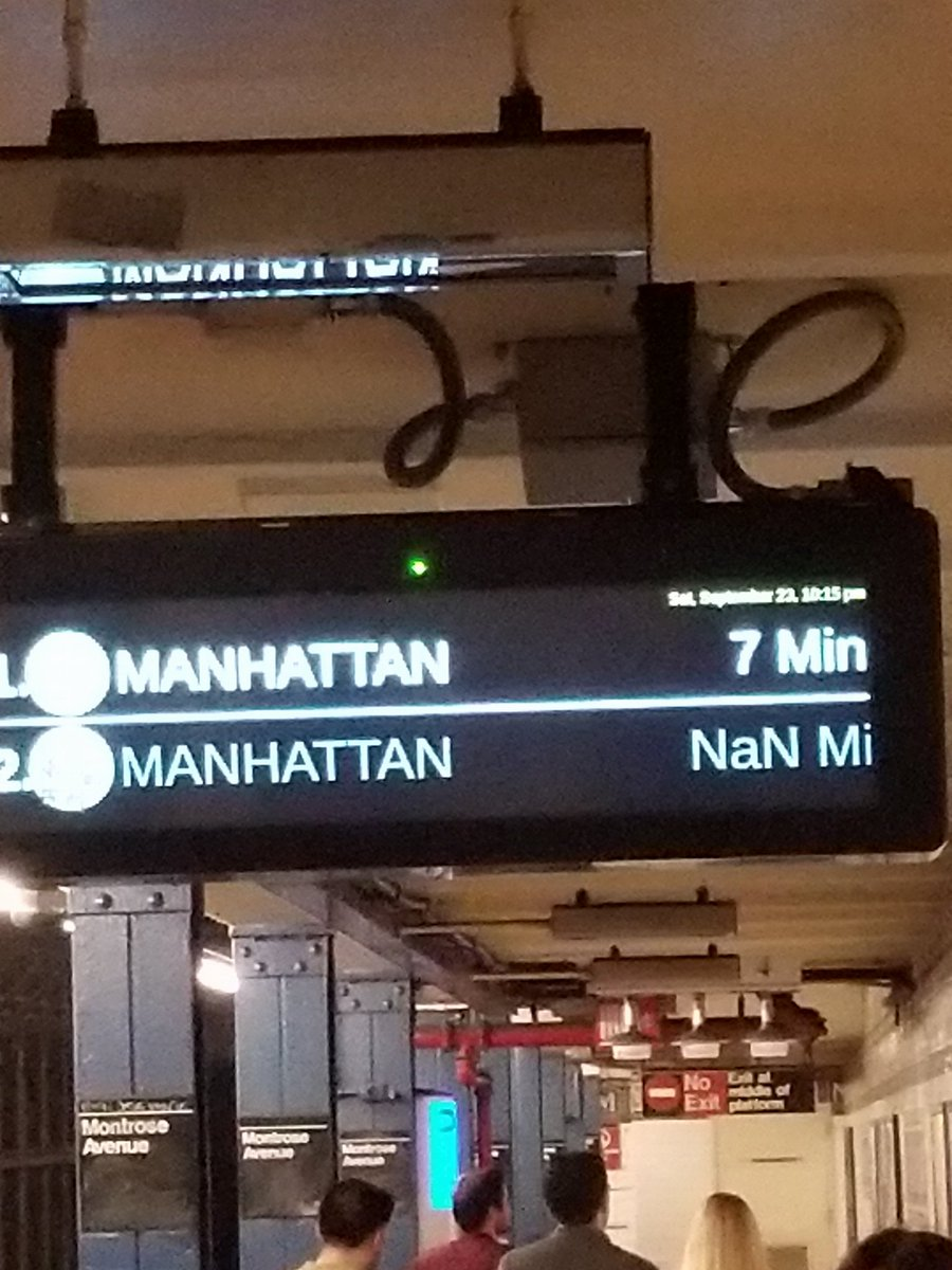You never know where you can find the #Javascript #NaN values! That&#39;s why it&#39;s important to check your number values #Developer #Funny<br>http://pic.twitter.com/Hv8oZEuayL