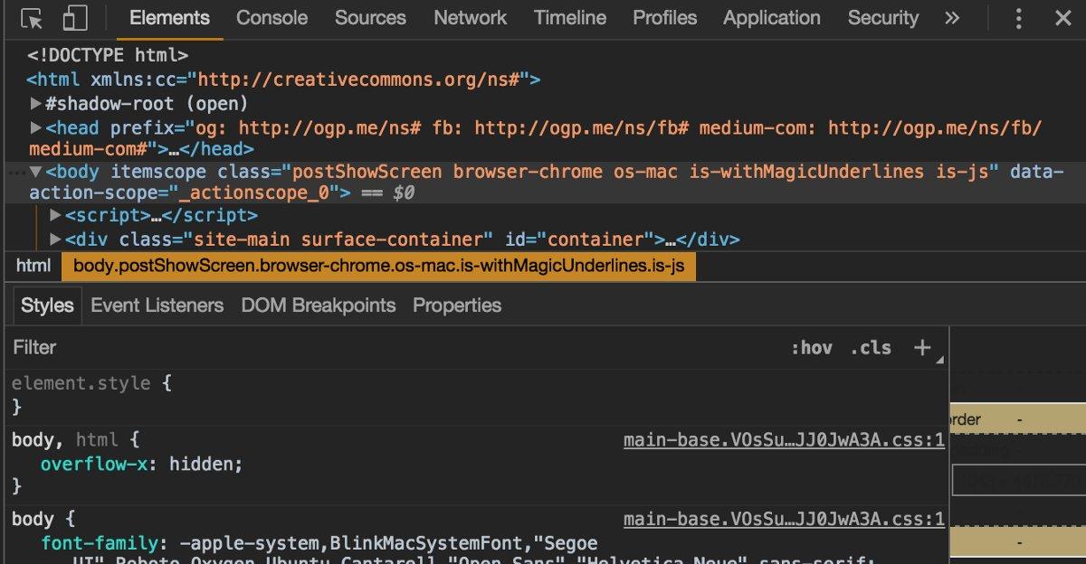 """Mastering #Chrome #Developer #Tools: Next Level #FrontEnd #Development Techniques""   http:// bit.ly/2wMThh8  &nbsp;   #javascript #webdevelopment <br>http://pic.twitter.com/McuGCDmOCu"