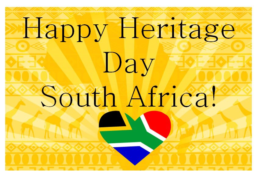 Happy Heritage day to all South Africans, world wide  #SouthAfrica #HeritageDay #Ilovemycountry<br>http://pic.twitter.com/5ybRupN4I4