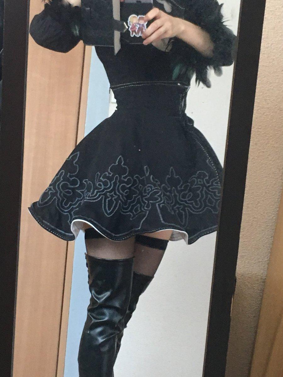 スカートのシルエット気にしてたんだけどパニエ履けば解決したわ!昨日履いていけばよかった!ものすごく後悔!  もう少ししたら落ち着くので写真の受け取りとレスします〜〜