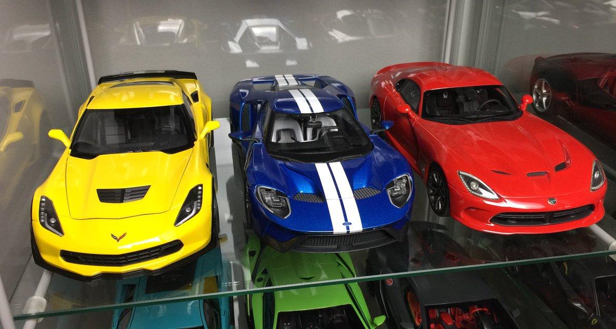 Castpion On Twitter Chevrolet Corvette C7 Zo6 Ford Gt 2017 Dodge Viper Srt All My 1 18 American Modelcars