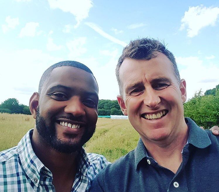 Celebrating harvest on @BBCSoP today at 4pm interviewing the legend that is @Nigelrefowens ! #harvest #farmlife #rugby #songsofpraise x<br>http://pic.twitter.com/eCaTHaYNGF