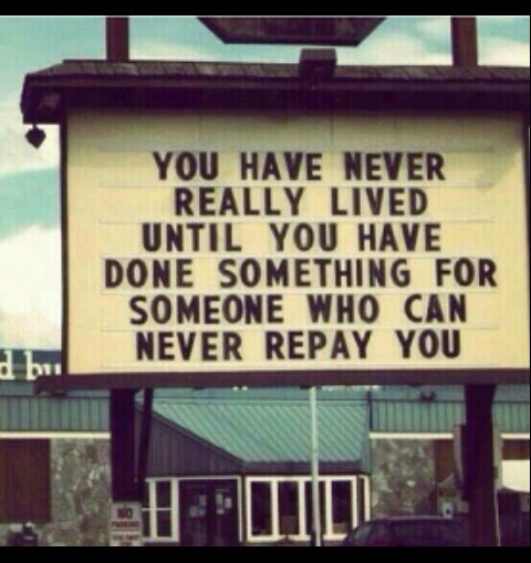 You have never really lived until you have done something for someone who can never repay you. #success #serving #ThinkBIGSundayWithMarsha<br>http://pic.twitter.com/Zft0D9raBt