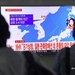 Image for the Tweet beginning: North Korea quake not a