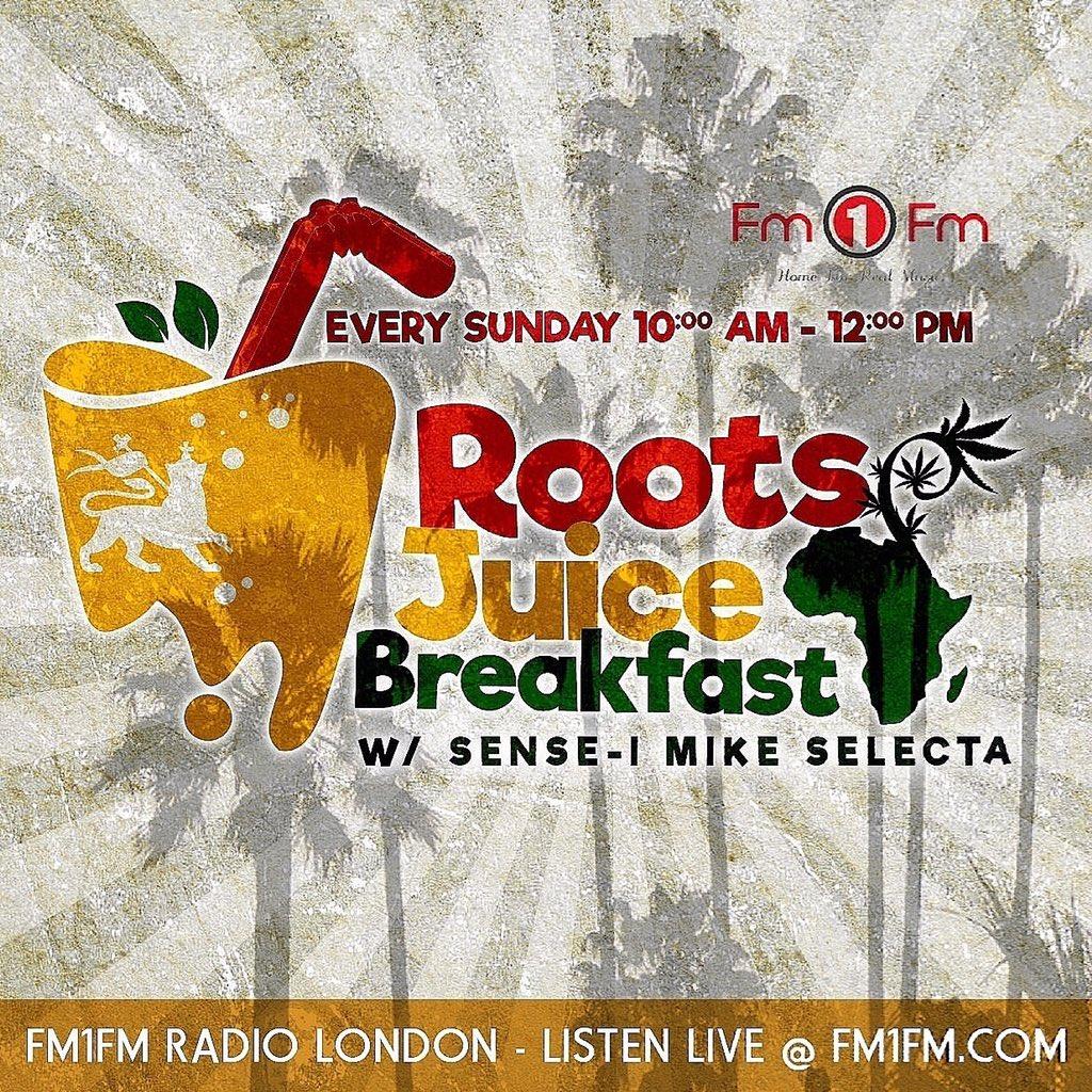 Roots Juice Breakfast #onair Now -  http://www. fm1fm.com  &nbsp;   App: Fm1Fm Good #morning <br>http://pic.twitter.com/BdStg09Q3U