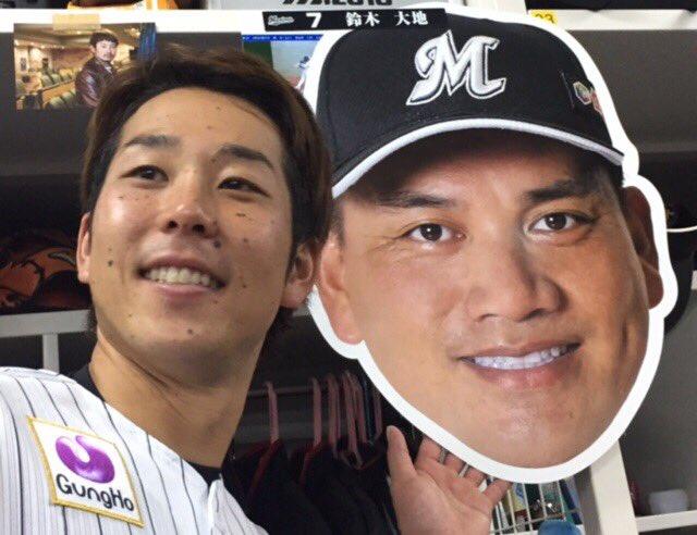 「井口さんの引退試合、絶対に勝ちたかった」と鈴木キャプテン。さすがです。(広報) #chibalotte #ありがとう井口