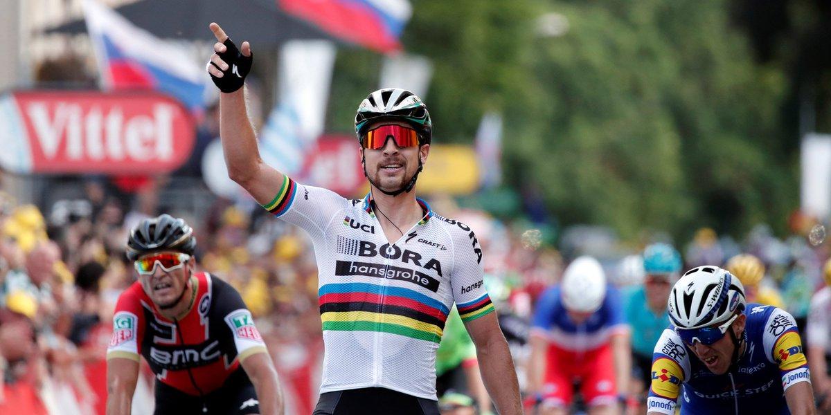 Mondiaux de cyclisme : Peter Sagan, le monde lui appartient  https://t.co/dsWsTB5vGY