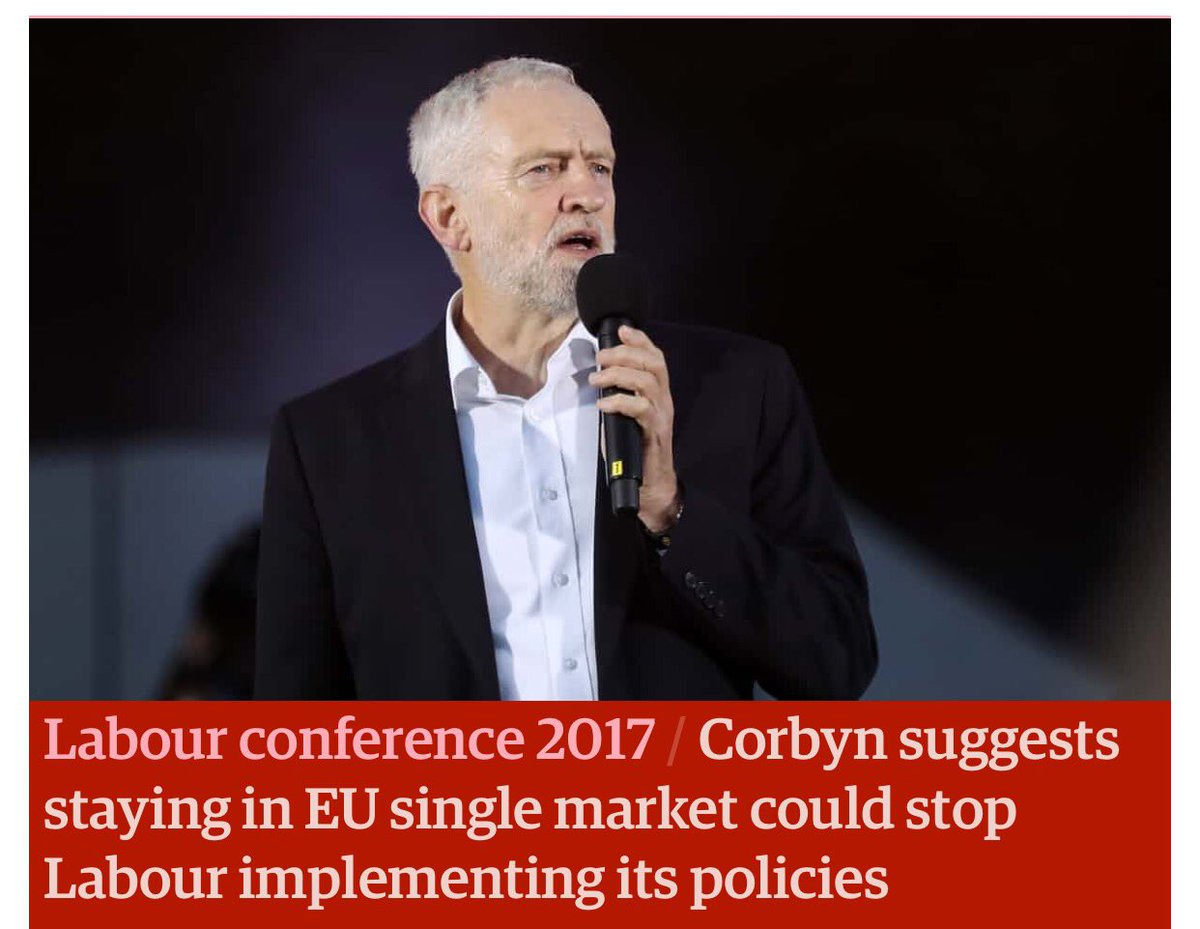 I wish people would realise how much Corbyn wants Brexit to happen, and be hard. https://t.co/5v6lRH8YaY