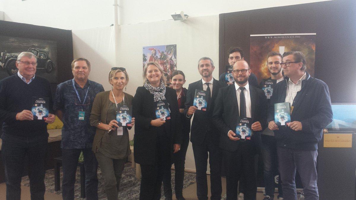 Fin de la conférence de presse bilan de la #FoiredeCaen - RDV dans l'espace pour l'édition 2018 ! https://t.co/xYX4d9qVBH