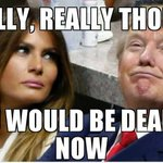 Even though she's made her choices, I feel sorry for #MelaniaTrump. It can't be worth it