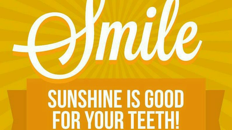 #Smile! Sunshine is good for your teeth :-) <br>http://pic.twitter.com/DI0orh839D