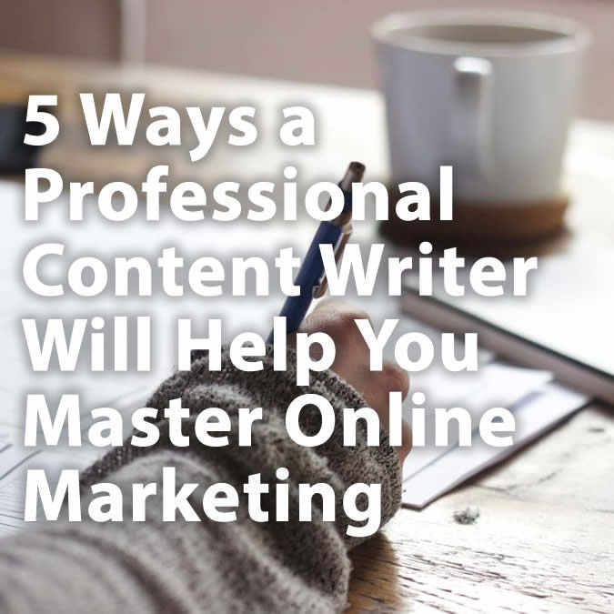 5 Ways a Professional Content Writer Will Help You Master Online Marketing  https:// buff.ly/2jJzSga  &nbsp;   #contentwriting <br>http://pic.twitter.com/7ATKFpySCi