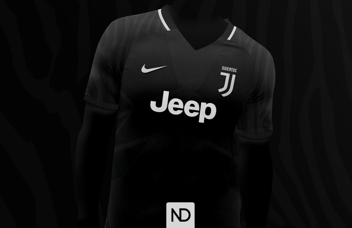 Natodoldan On Twitter Juventus Fantasy Away Kit Nike Black Zebra