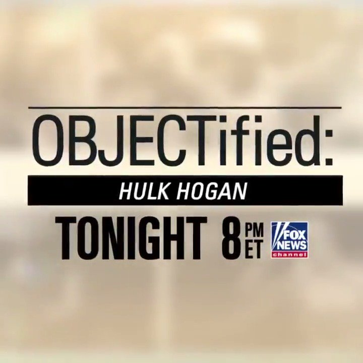 Tonight at 8p ET: Watch a revealing interview with @HulkHogan on 'OBJECTified,' hosted by @HarveyLevinTMZ. https://t.co/2tlXmWrdY9