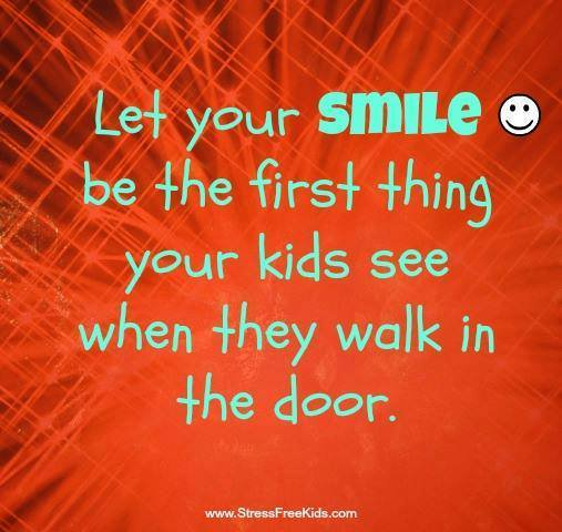 Let your #smile be the first thing your #kids see..  via @StressFreeKids  #ThinkBIGSundayWithMarsha #InspireThemRetweetTuesday #IQRTG<br>http://pic.twitter.com/pN0lMykWcl