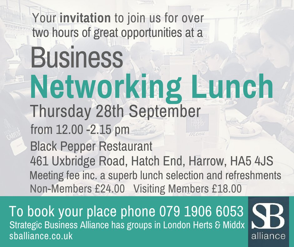 Do you run a #business in #London #Herts &amp; #Middx &amp; have you tried #networking to gain new #contacts? It is a great way to gain new #biz RT<br>http://pic.twitter.com/f6TwB6kt41