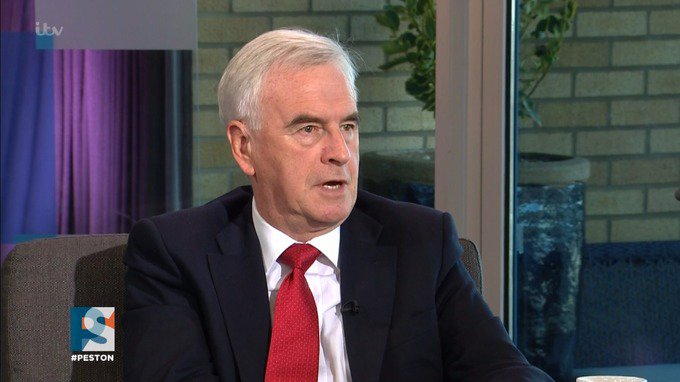 Labour's John McDonnell brands Uber a 'disgrace' over licensing issues...