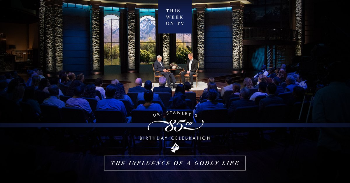 What gives you the most #joy? Join Dr. Stanley &amp; @AndyStanley for a special conversation about life and ministry:  http:// intouch.cc/2xApext  &nbsp;  <br>http://pic.twitter.com/FzfokLiPOb