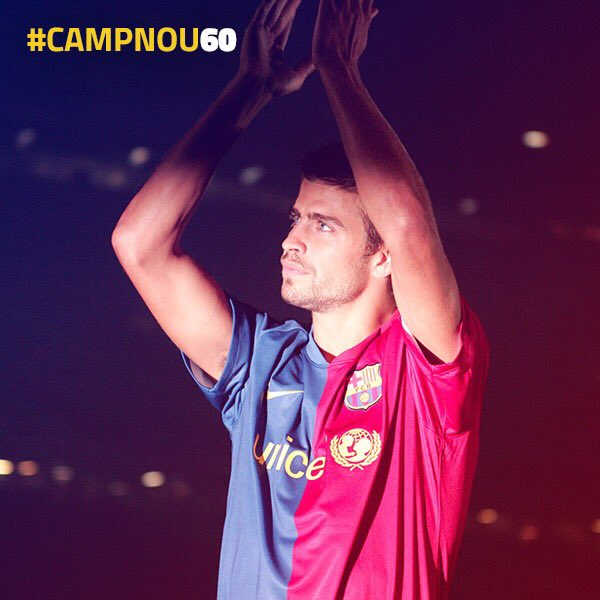 �� Happy Birthday, #CampNou60! Let's have many more magical moments like my first Gamper. https://t.co/WZjhLqsaj7