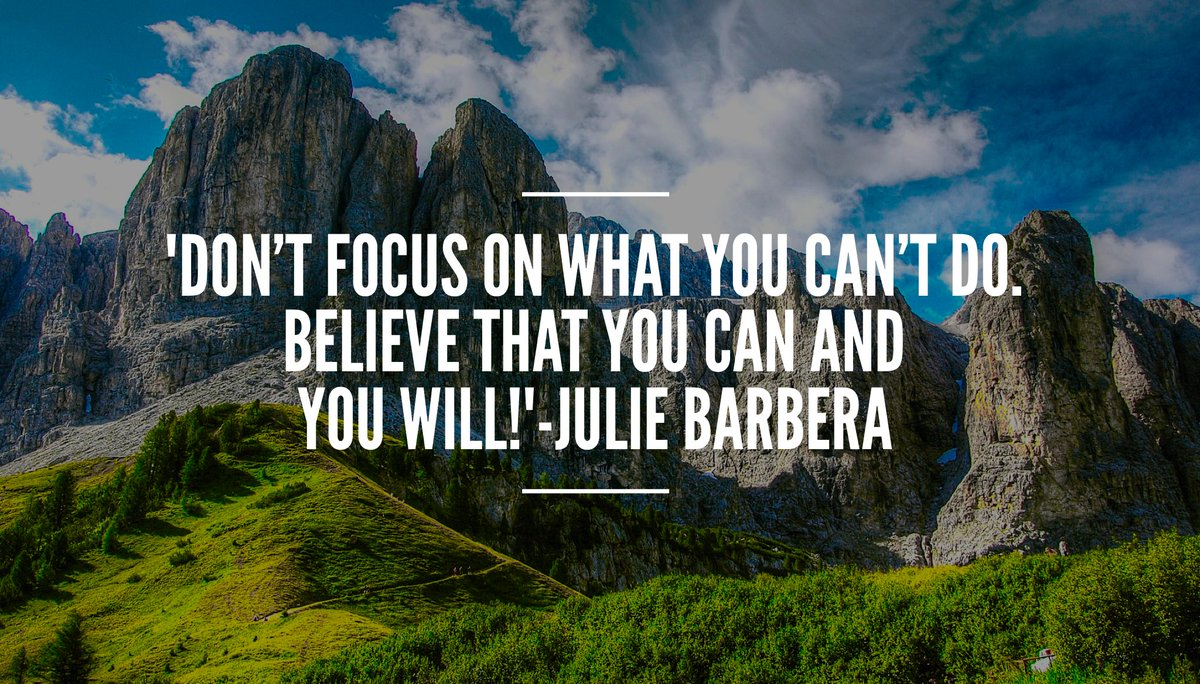&#39;What you think about yourself becomes your #reality Believe that you can and you will!&#39; #ThinkBIGSundayWithMarsha #PositiveVibes #mindset <br>http://pic.twitter.com/nJdH29wrqd