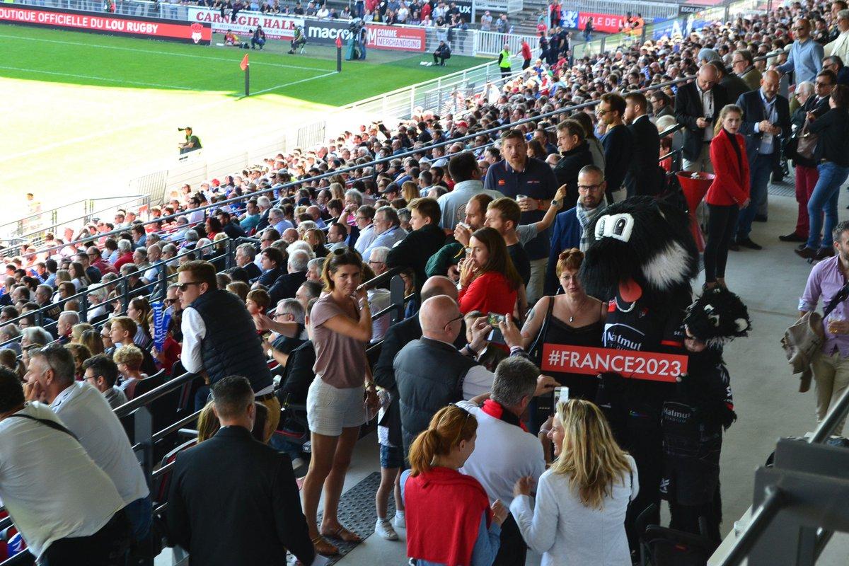 #France2023 c'est aussi dans les tribune...