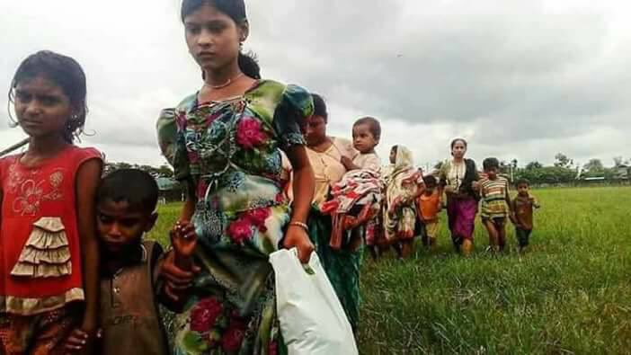 Why only #Bengali #women and #children? Where are the #men? fresh refugee inUN Camp Lost of men.<br>http://pic.twitter.com/2KH2yRJhc4