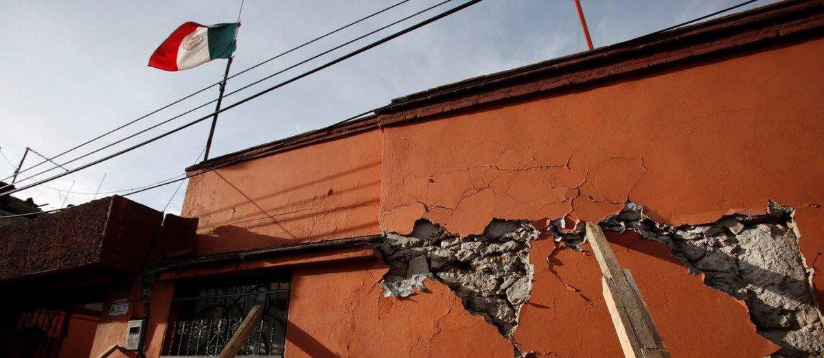 Mais um terremoto atinge o México. Tremor de magnitude 5,9 atinge litoral oeste do país na manhã deste domingo. https://t.co/l8YPzuXhdQ