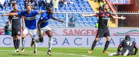 #Sampdoria 2-0 #ACMilan : Duvan Zapata and Ricky Alvarez for deserved win  https://www. football-italia.net/SerieA/match/1 06424 &nbsp; …  #SampMilan #SerieA<br>http://pic.twitter.com/RdgMaJXdCv