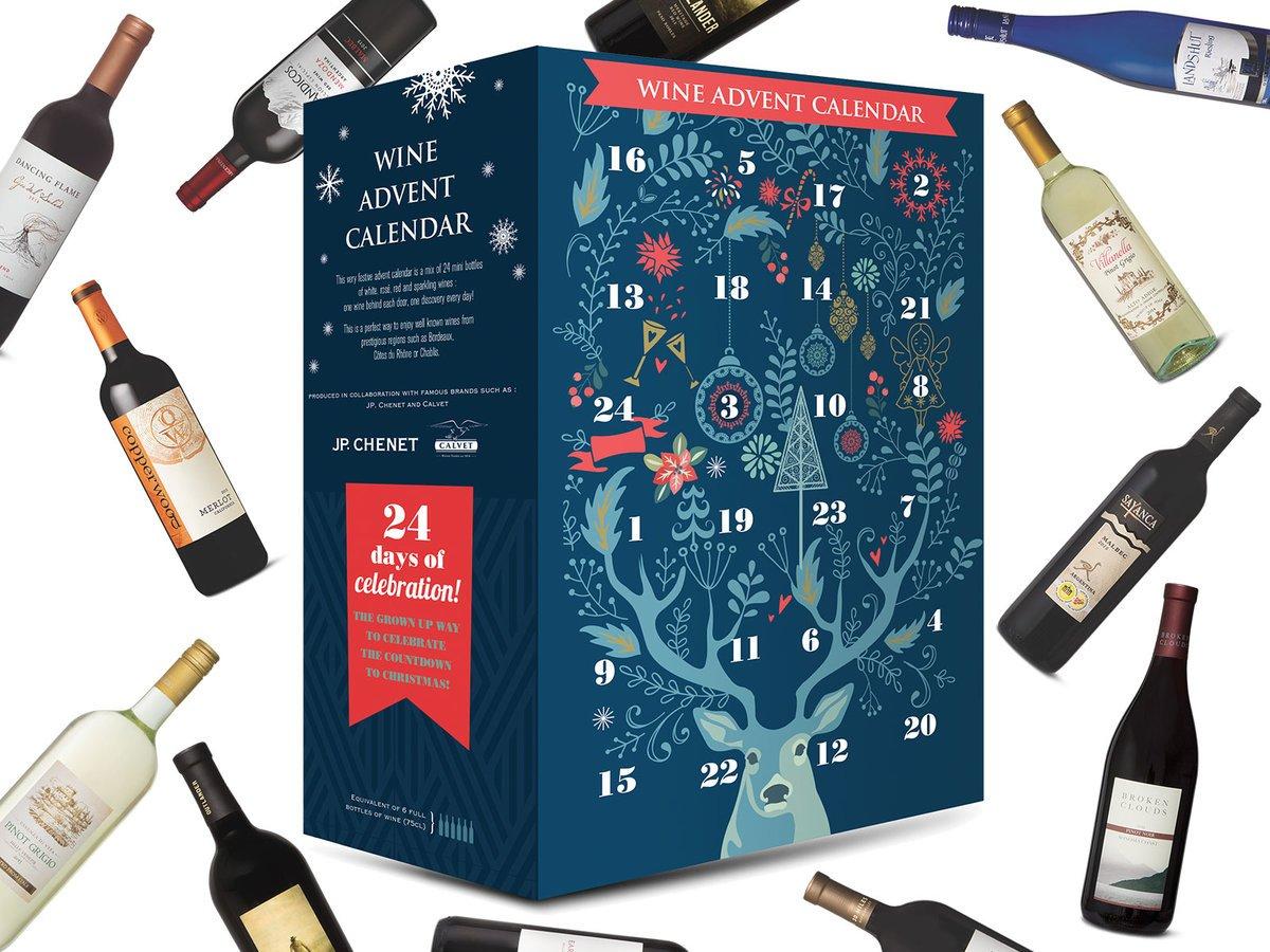 Aldi's wine Advent calendar contains 6 bottles worth of wine: https://t.co/5MC69Byqun