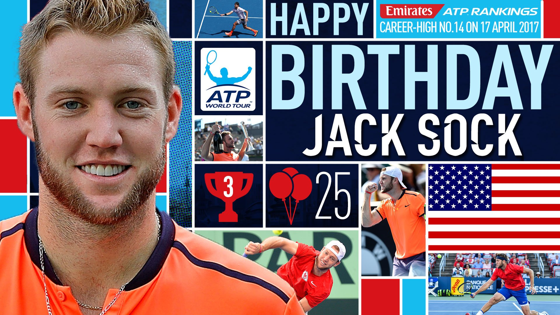 �� time for @JackSock! The ���� turns 25 today. Happy birthday, Jack!  Profile ➡️ https://t.co/gQcW0giU6F https://t.co/g0xEDGXYyi