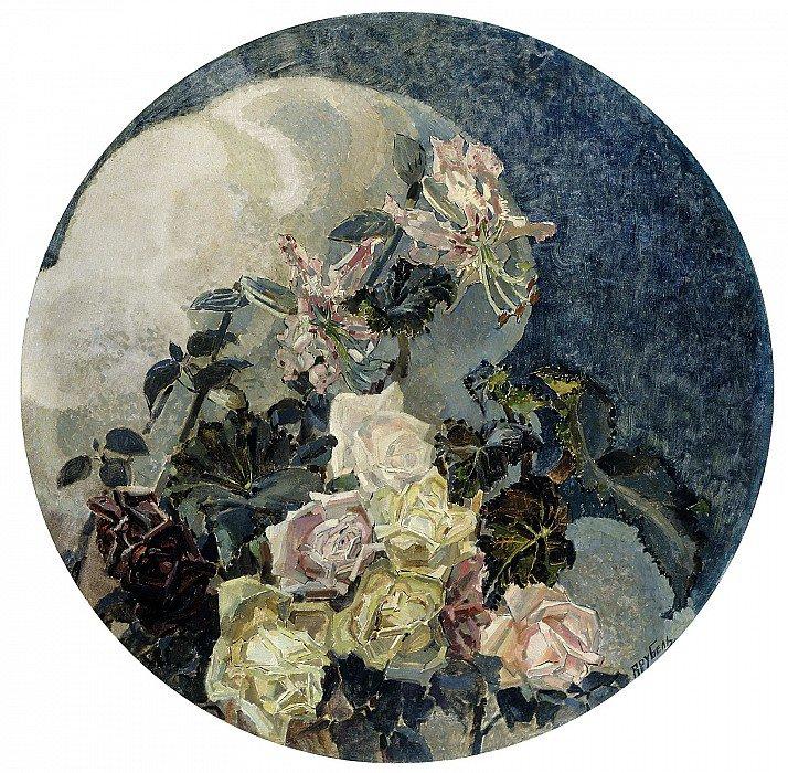 Михаил Врубель. «Розы и орхидеи». 1894 г.