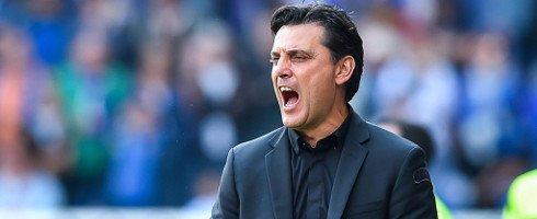 Vincenzo Montella says #ACMilan lacked both determination and quality in their defeat to #Sampdoria... https://www. football-italia.net/110349/montell a-unhappy-milan-display &nbsp; … <br>http://pic.twitter.com/KSdYEIYiRC