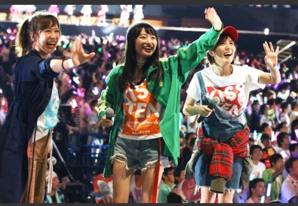 ユニットじゃんけん大会!  なんと!!!!! 私たち #kissの天ぷら がベスト4になりました😭🎉🎉🎉  しーちゃんときたりえに感謝ですー!!  12/13発売のCDのカップリング曲を鱚天で歌えるなんて!!  うれしすぎう!!!最高!