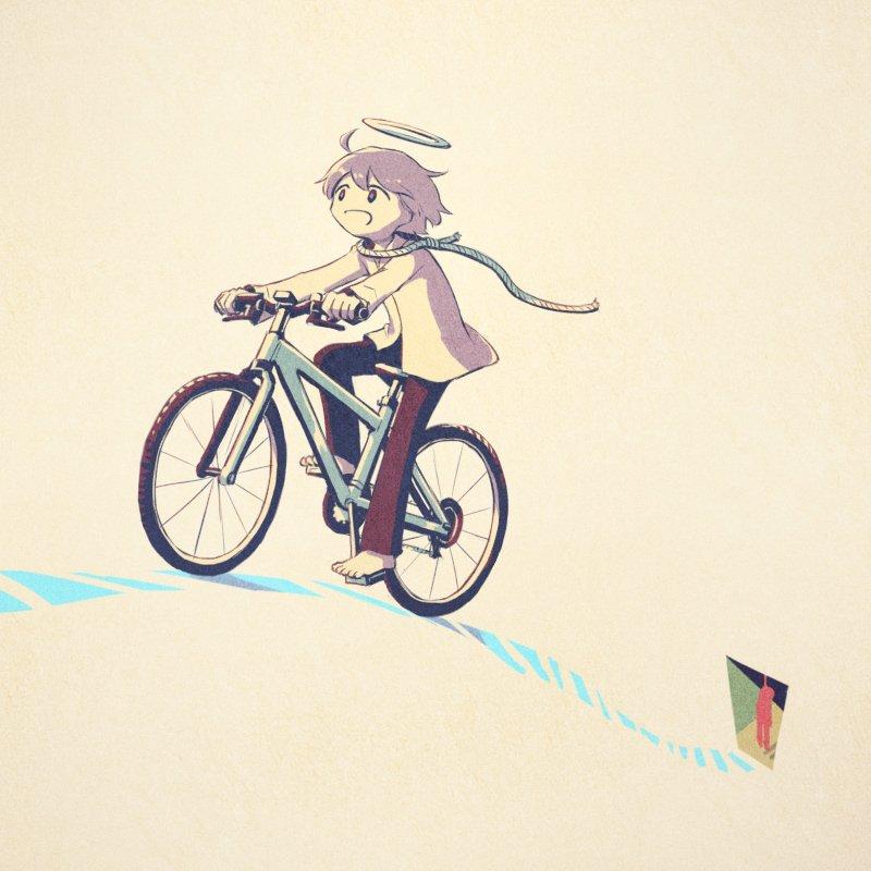 念願のマウンテンバイクを手に入れた。遠くへ出かけよう。