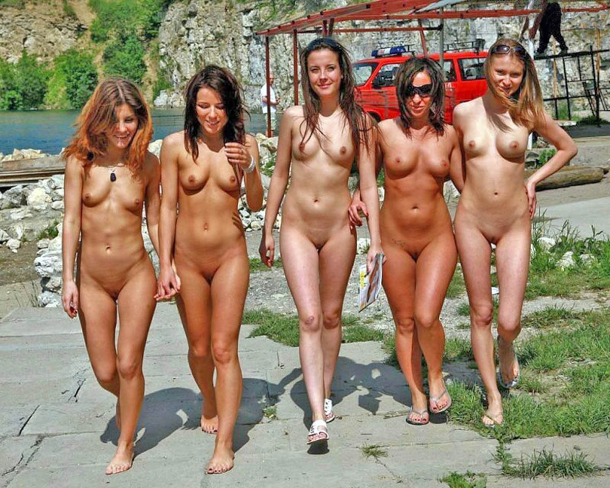 naked among clothed